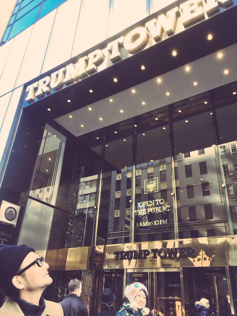 NYに来ました。