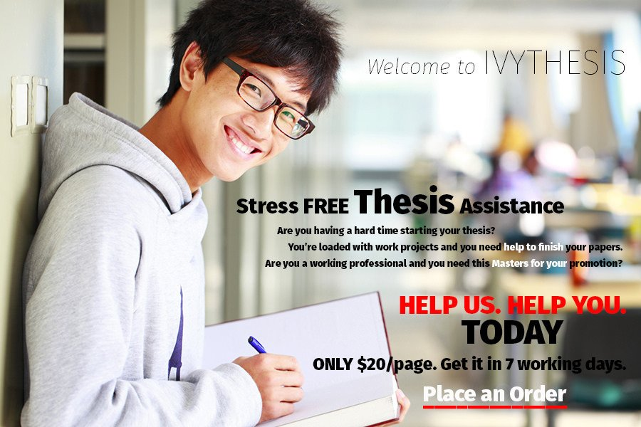 thesis writing jobs
