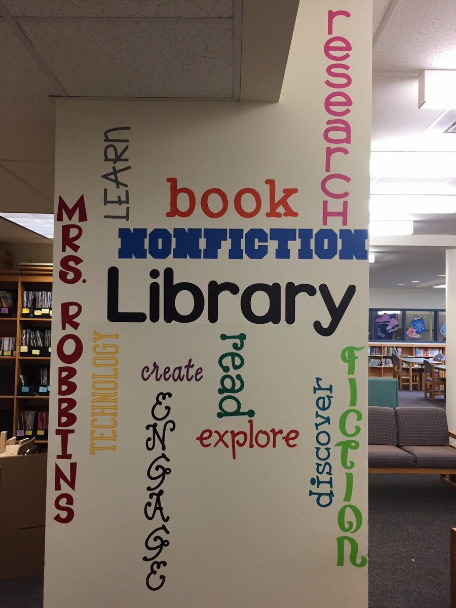 School Library Banners Advertisement Banners