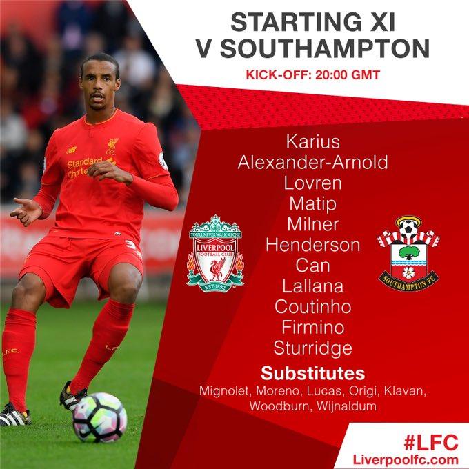 Southampton vs. Liverpool C3CdL8qWIAE2CP-