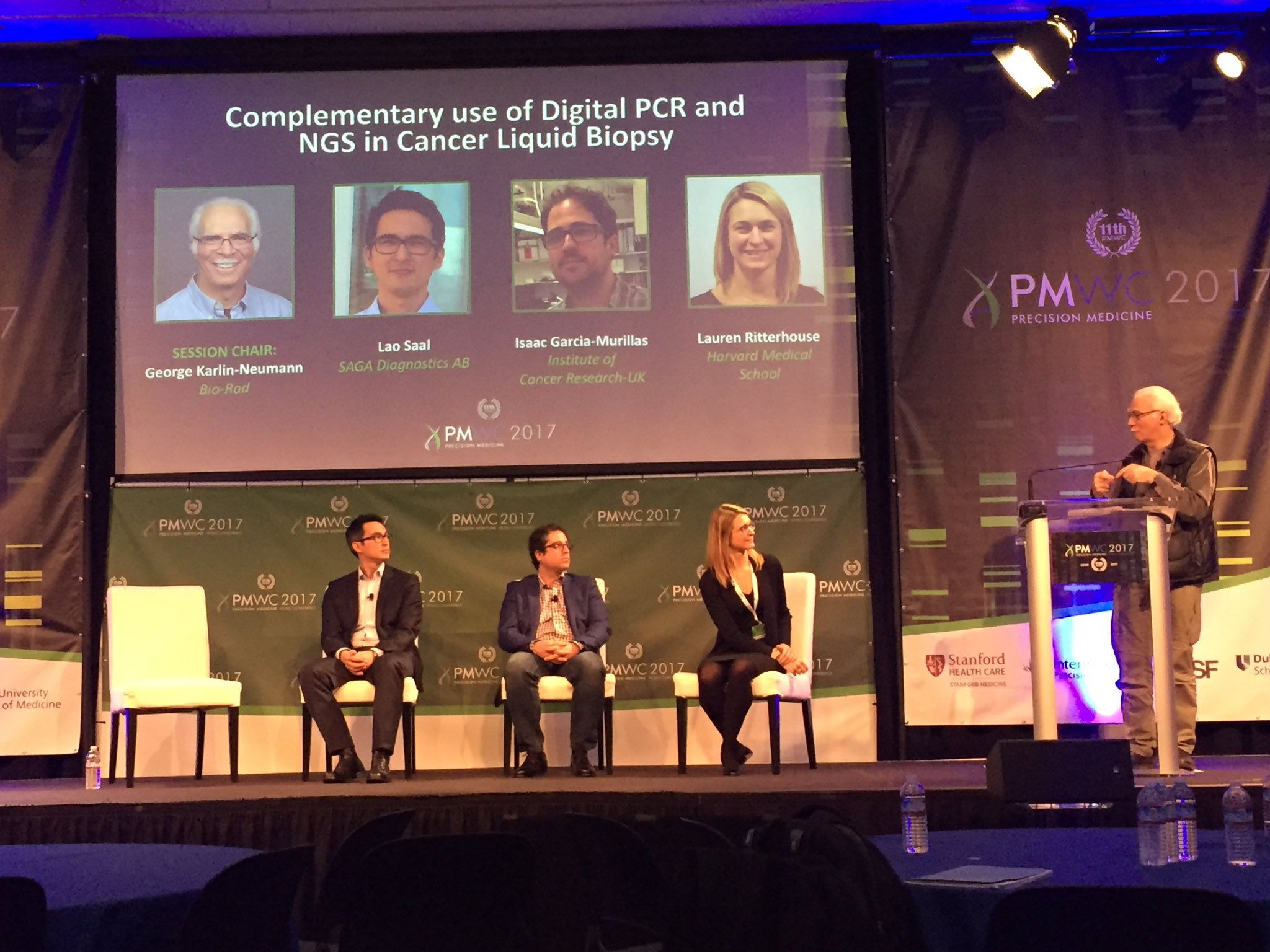 PCR  and NGS are powerful methods how will this better clinical approaches to treat cancer? Patients first!! #PMWC17 discussion  @PMWCintl https://t.co/MzkgdRpgqp