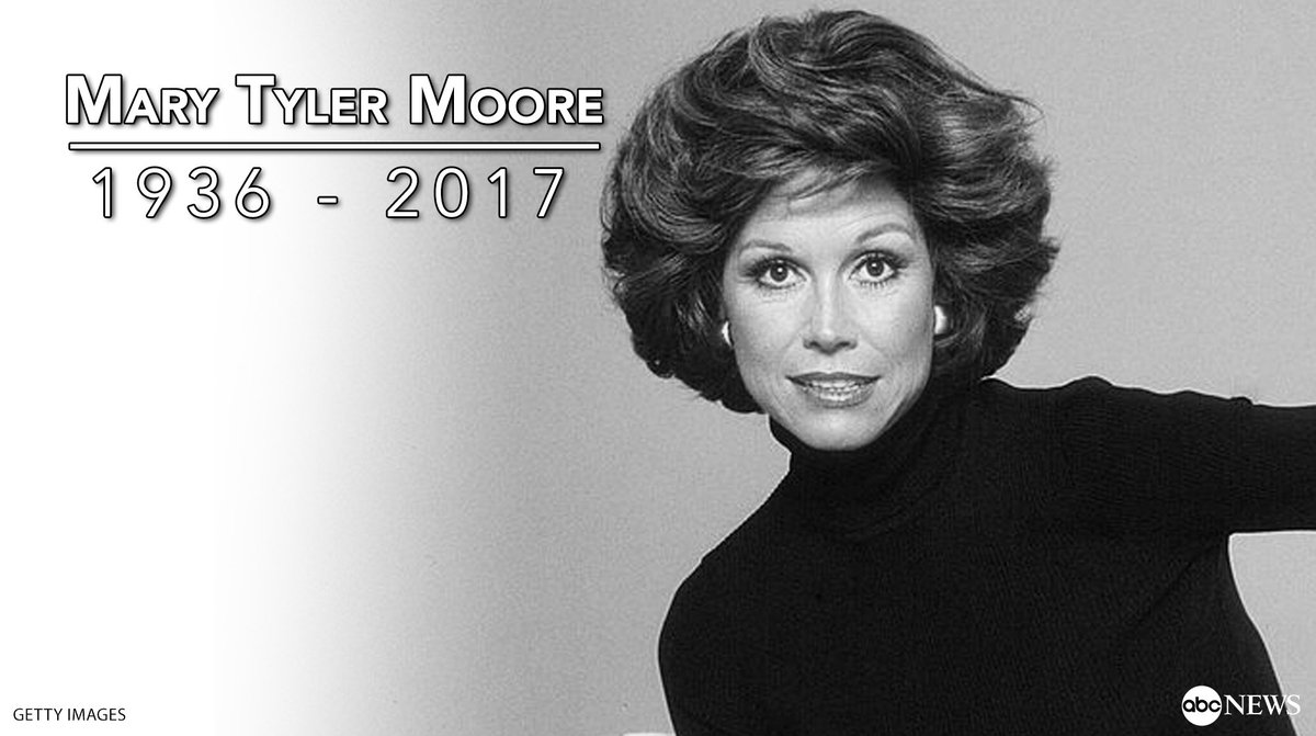 BREAKING: Actress Mary Tyler Moore has passed away at 80 years old, he...