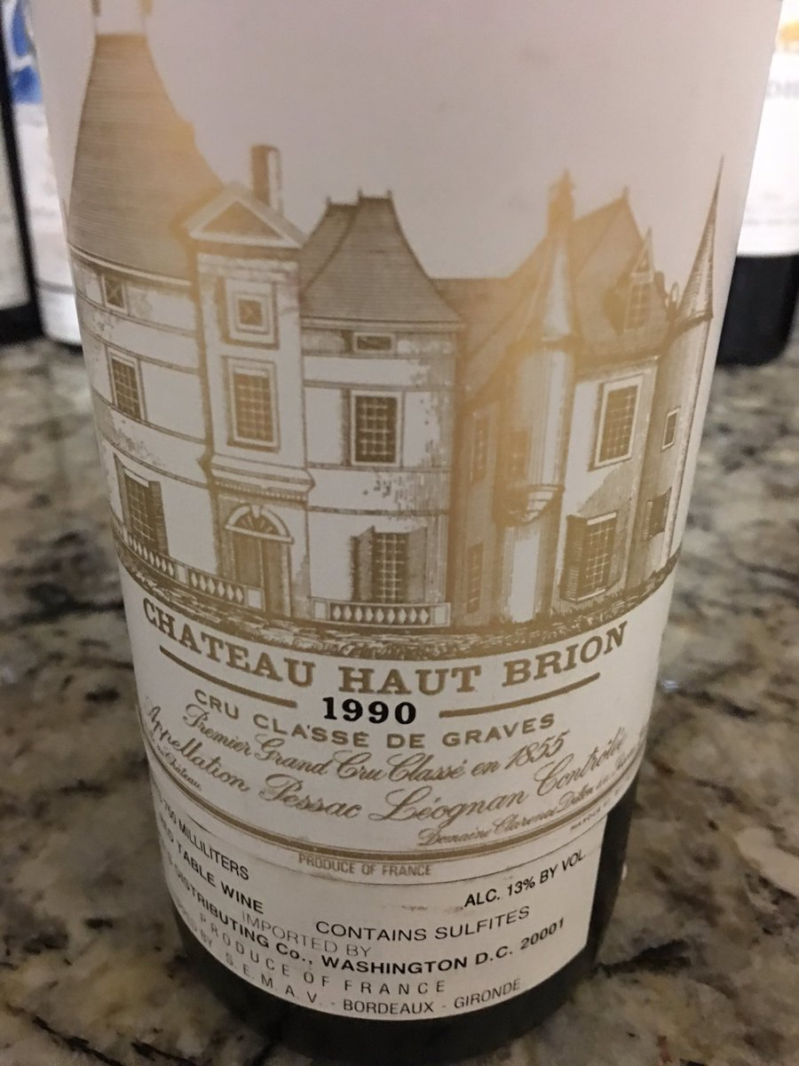 82 Mouton Rothschild And A 90 Haut Brion Last Night Likely The Greatest Of Wine I Will Ever Drink In My Entire Lifepictwitter NOQ8Oi7urs