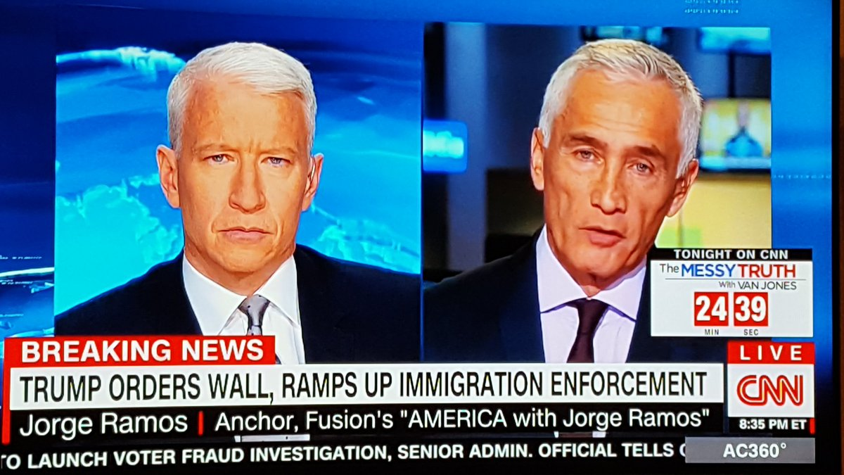 Anderson Cooper and Anderson Cooper in 30 years https://t.co/WgvOnIsbvh