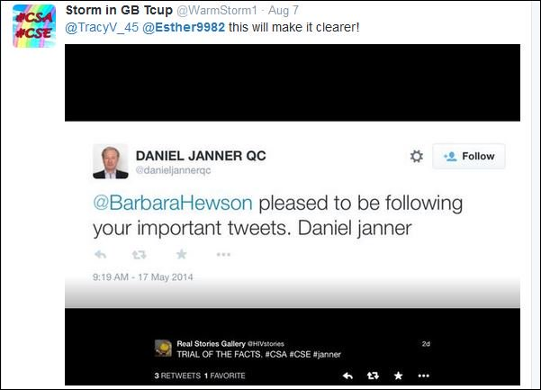123d27002d Barbara Hewson may have been suspended by Twitter but I still find her  cousin intriguing: