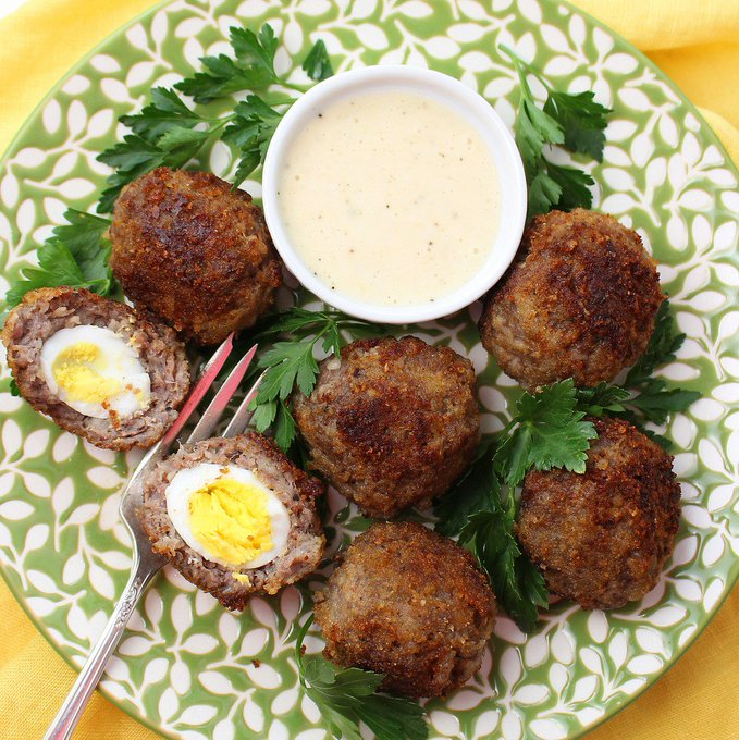 Scotch Eggs for Burns Night