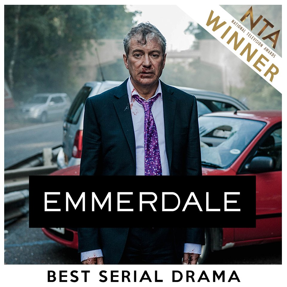 WE'VE DONE IT! #BestSerialDrama Thank you so much to everyone who voted! #NTAs #LoveOurFans #Emmerdale