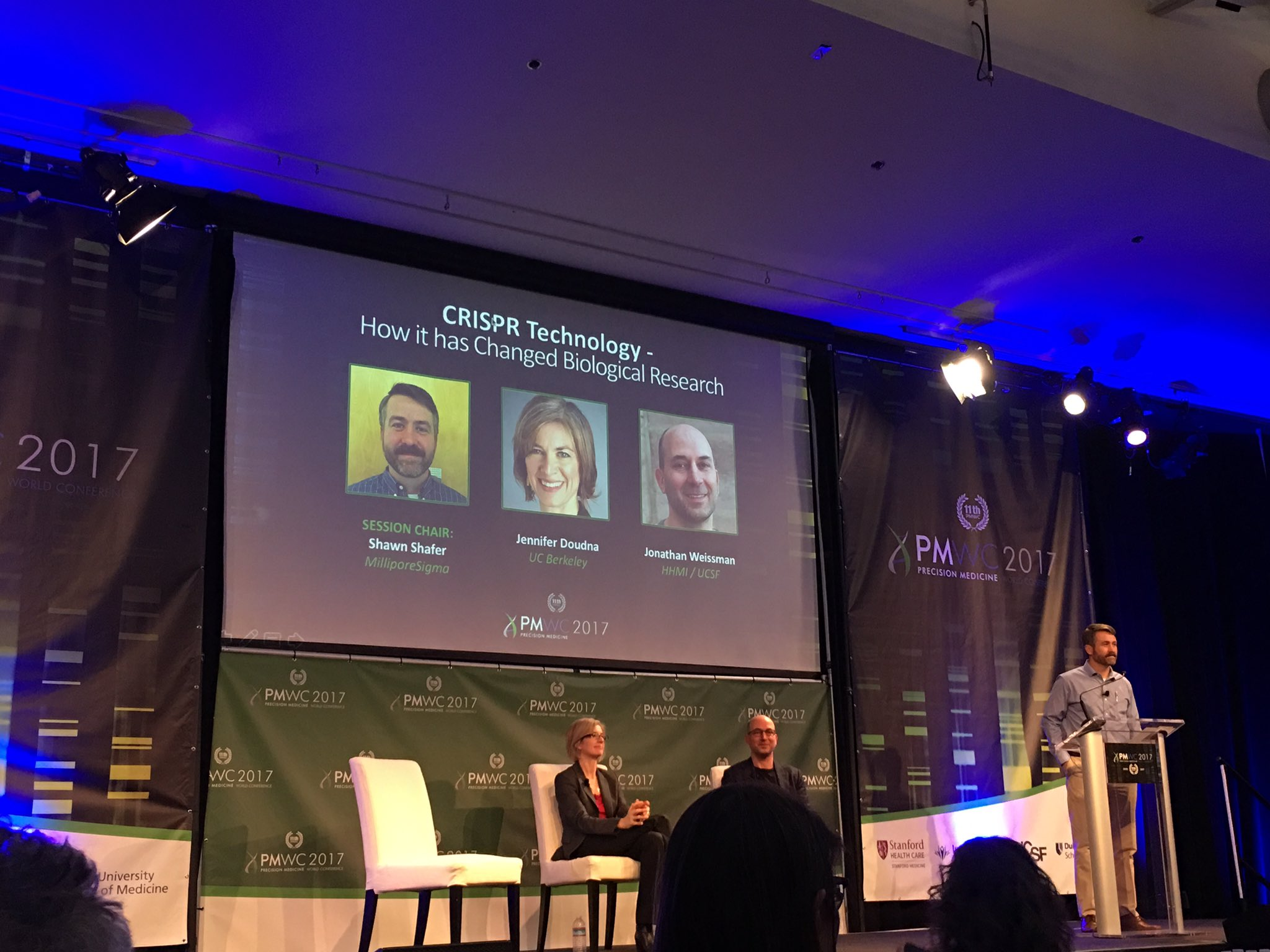How has #CRISPR changed biological research? Updates and visions for future #PMWC17 https://t.co/0aGVEInd2S