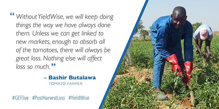 A tomato farmer from #Nigeria talks about #PostHarvestLoss @RockefellerFdn #YieldWise – Join us for a TWITTER CHAT https://t.co/zBddPyDraJ https://t.co/yKQzThX7jX