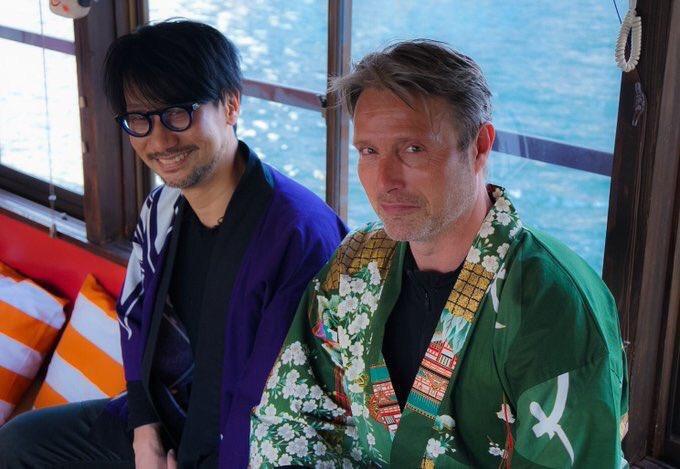 小島監督とマッツのこの写真、なんかどっかで見たことある気がするなーって思ってたんだけどたった今解決し…