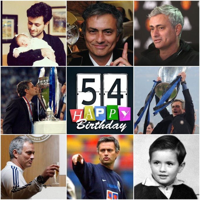 Happy birthday, Jose Mourinho!   The Boss is 54 today... Leave your message below.