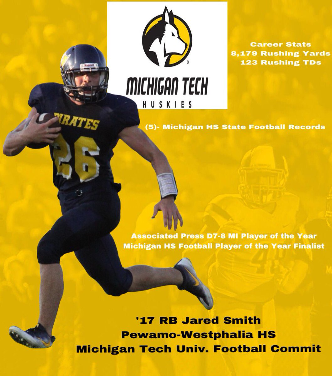 P W Football On Twitter Rb Jared Smith Has Committed To D2