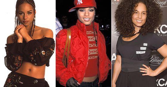 Happy birthday, Her super cool style evolution:
