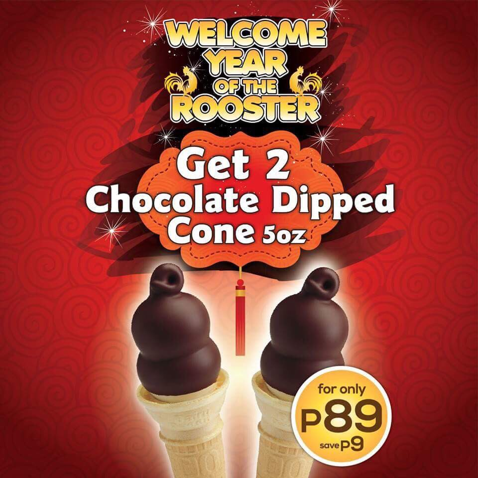 Celebrate the Chinese New Year up & loud together with your favorite #DairyQueenPH Treat! Promo is available from Jan 27-29, 2017. https://t.co/9952HD9ey7