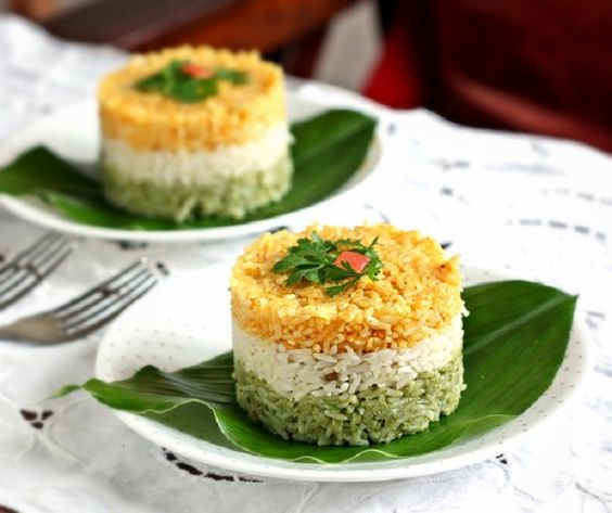 Check out our Republic Day special- Tricolor Dishes!