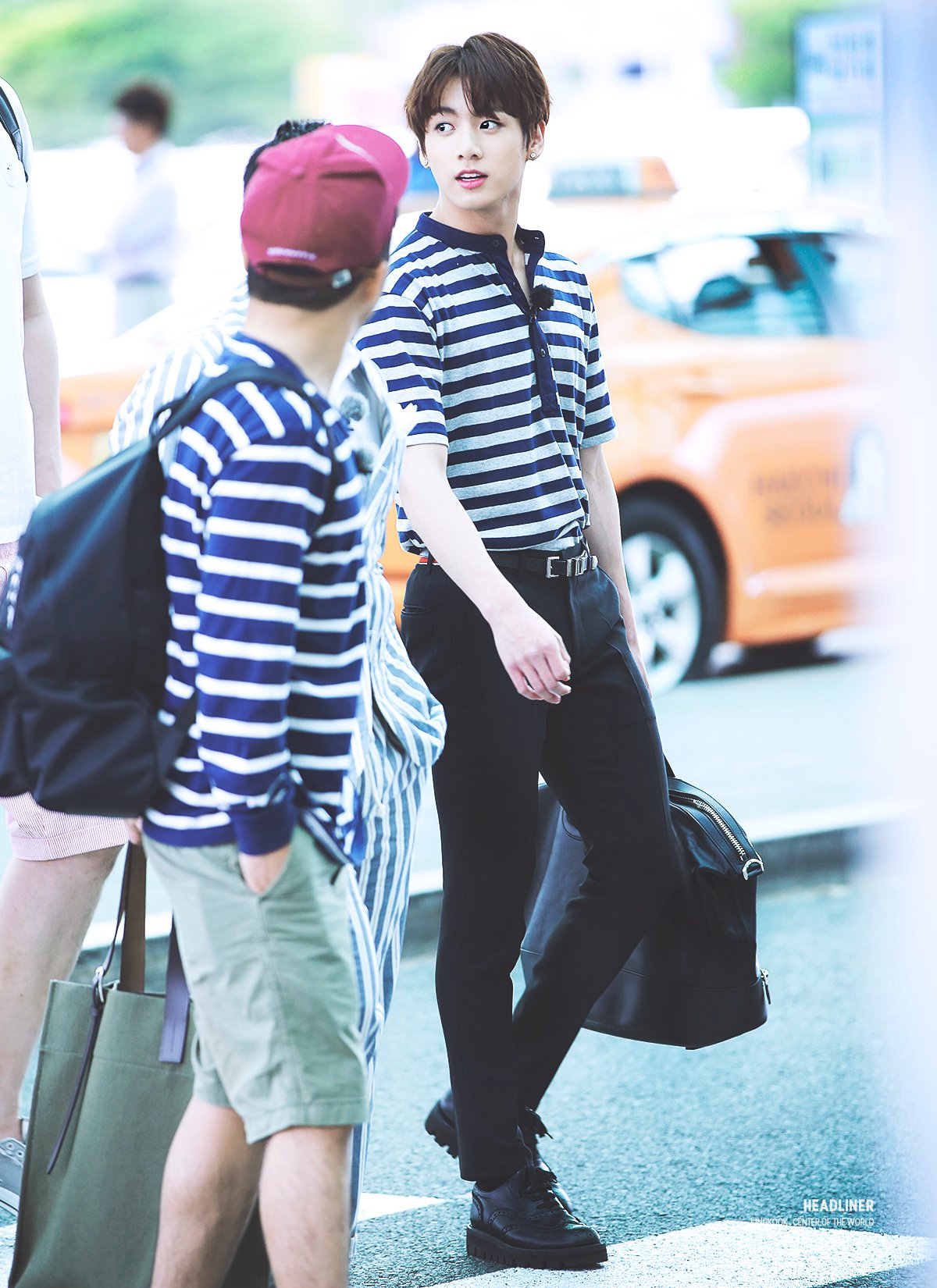 Imagini pentru jungkook airport fashion 2016