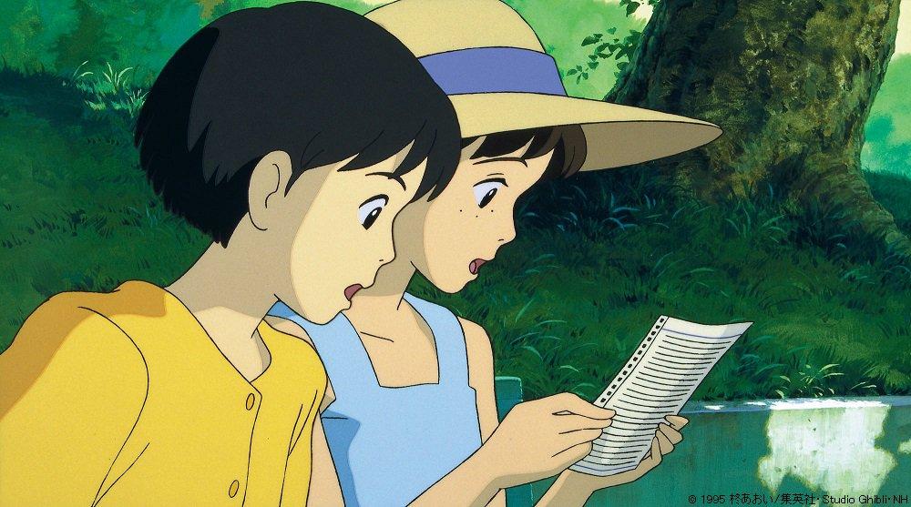 明日よる9時から「耳をすませば」📚🎻雫さんが書いたカントリー・ロードの訳詞🎼まっすぐな気持ちが込めら…