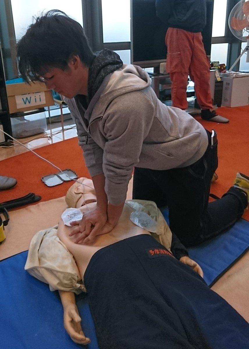 #ジャイアンツ 寮で、選手やスタッフが参加して防災訓練を行いました。#吉川尚輝 選手らルーキーたちも…