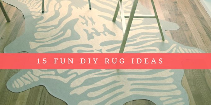 15 DIY Rug Ideas