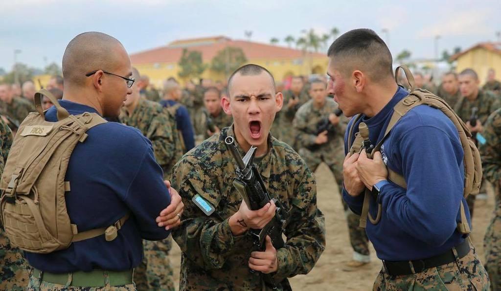usmc recruit training