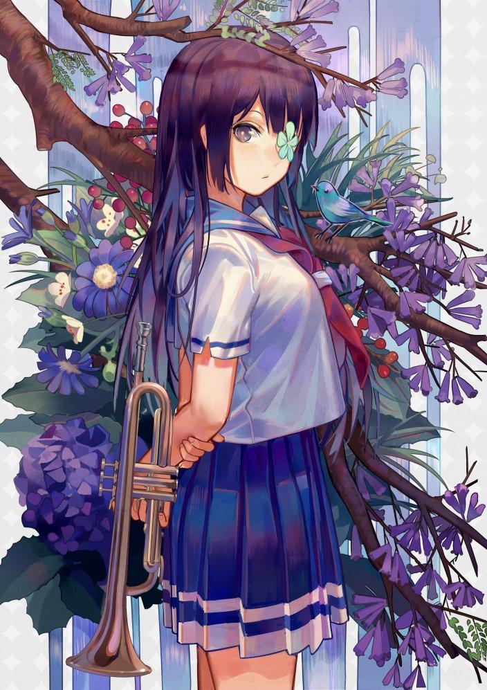 #anime_eupho 花言葉#1
