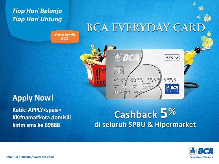 Uzivatel Kartu Kredit Bca Na Twitteru Dapatkan Terus Cashback 5