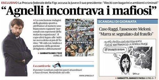 """Juve Mafia: """"Agnelli incontrava i mafiosi"""", la Juventus per vie legali"""