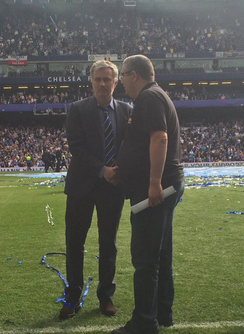 Happy 55th birthday to manager Jose Mourinho, have a great day my friend, see you later at the game