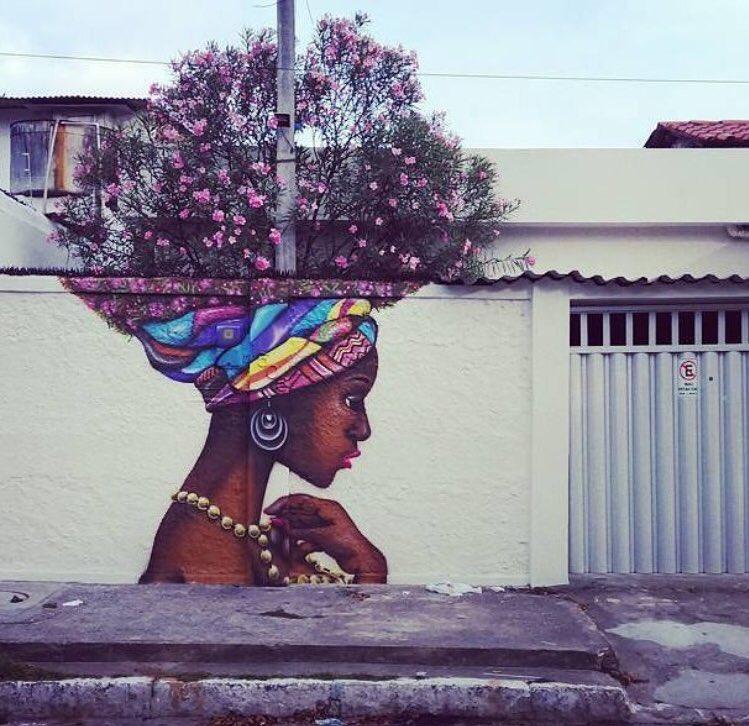 When Street Art meets Nature   #art #arte #graffiti