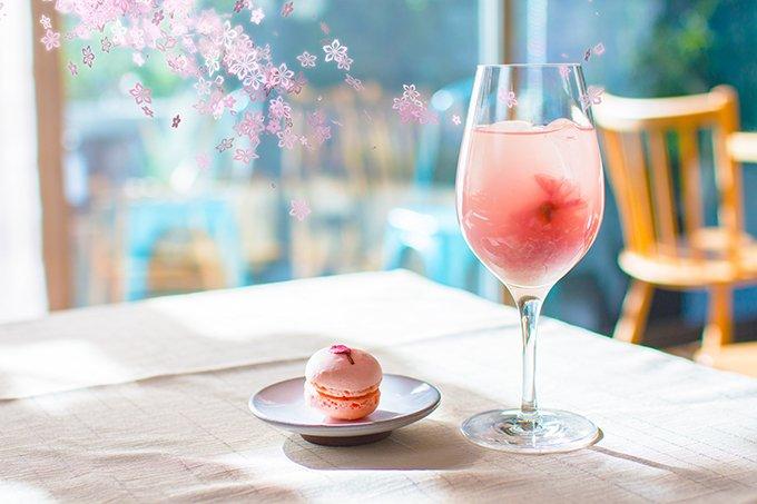「フラワーズバイネイキッド 2017 —立春—」日本橋で - 桜のワインクーラーやマカロン、宇治抹茶…