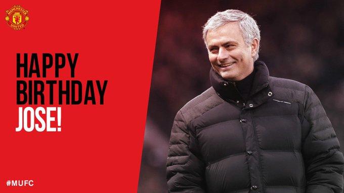 Happy birthday Jose Mourinho.