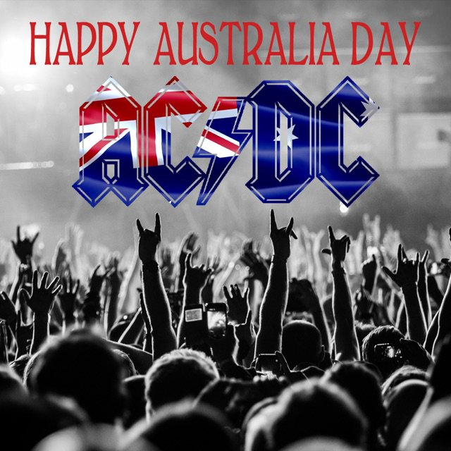 Happy Australia Day ⚡️ https://t.co/z6wlN3HUG6