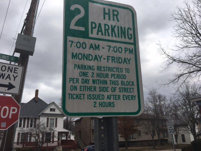 Purdue SLS On Twitter Read Parking Signs Around Campus Carefully