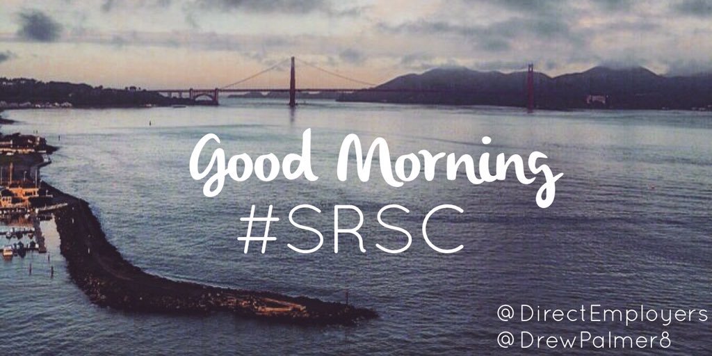 Good morning #SRSC! Excited to learn best practices in social recruiting and recruitment marketing! https://t.co/XGb6uAafTD