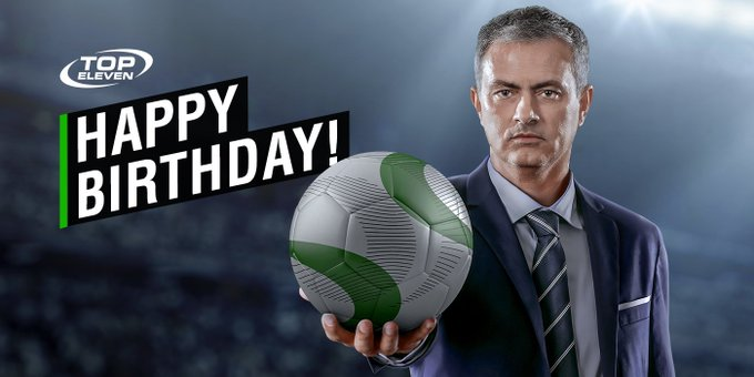 Happy Birthday to José Mourinho from all of us at