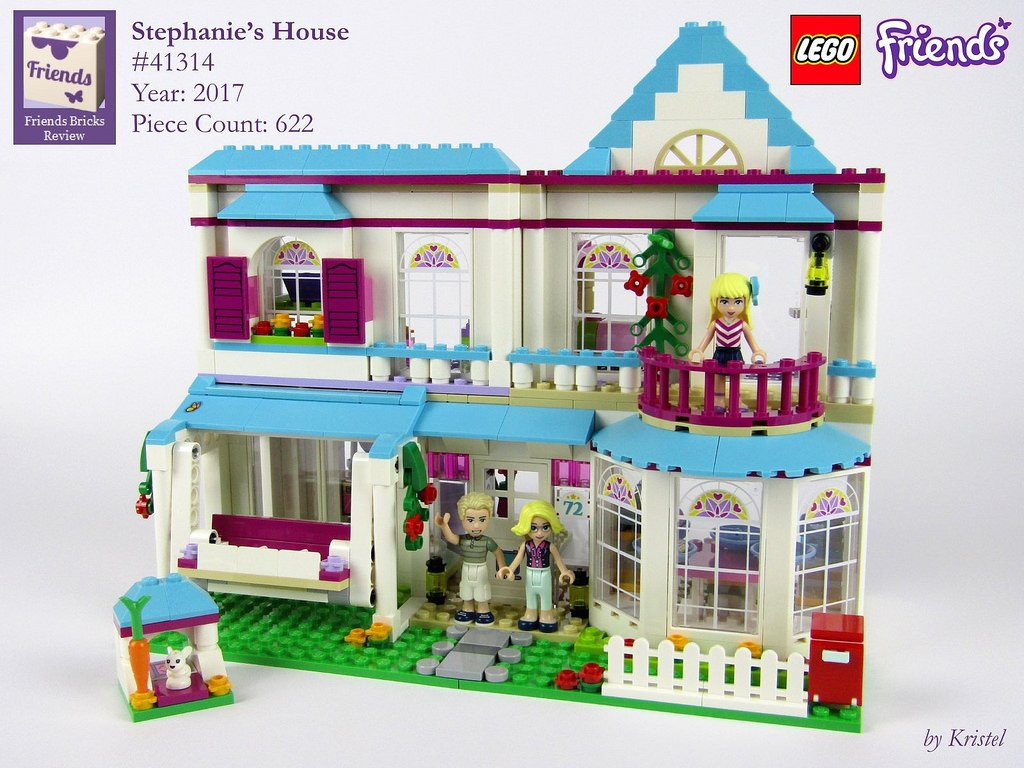friends bricks on twitter review lego friends stephanie 39 s house 41314 inside the bay window. Black Bedroom Furniture Sets. Home Design Ideas
