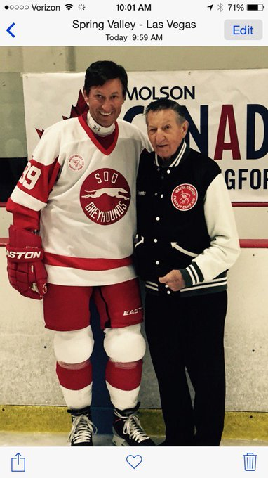 Happy Birthday to Wayne Gretzky-better human than hockey player, if you can imagine that.