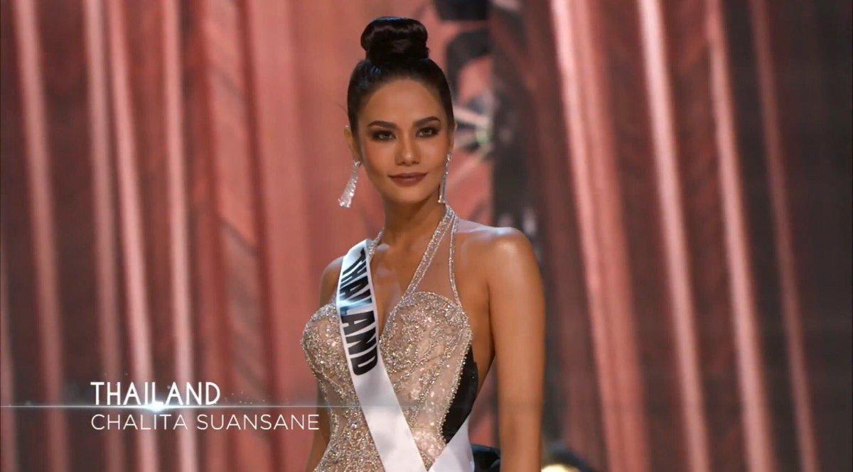 โอม มงจงลง!!! น้ำตาล ชลิตา ในชุดราตรี สวยมาก Retweet เลย #MissUniverse #Thailand https://t.co/qeWKos0OiU