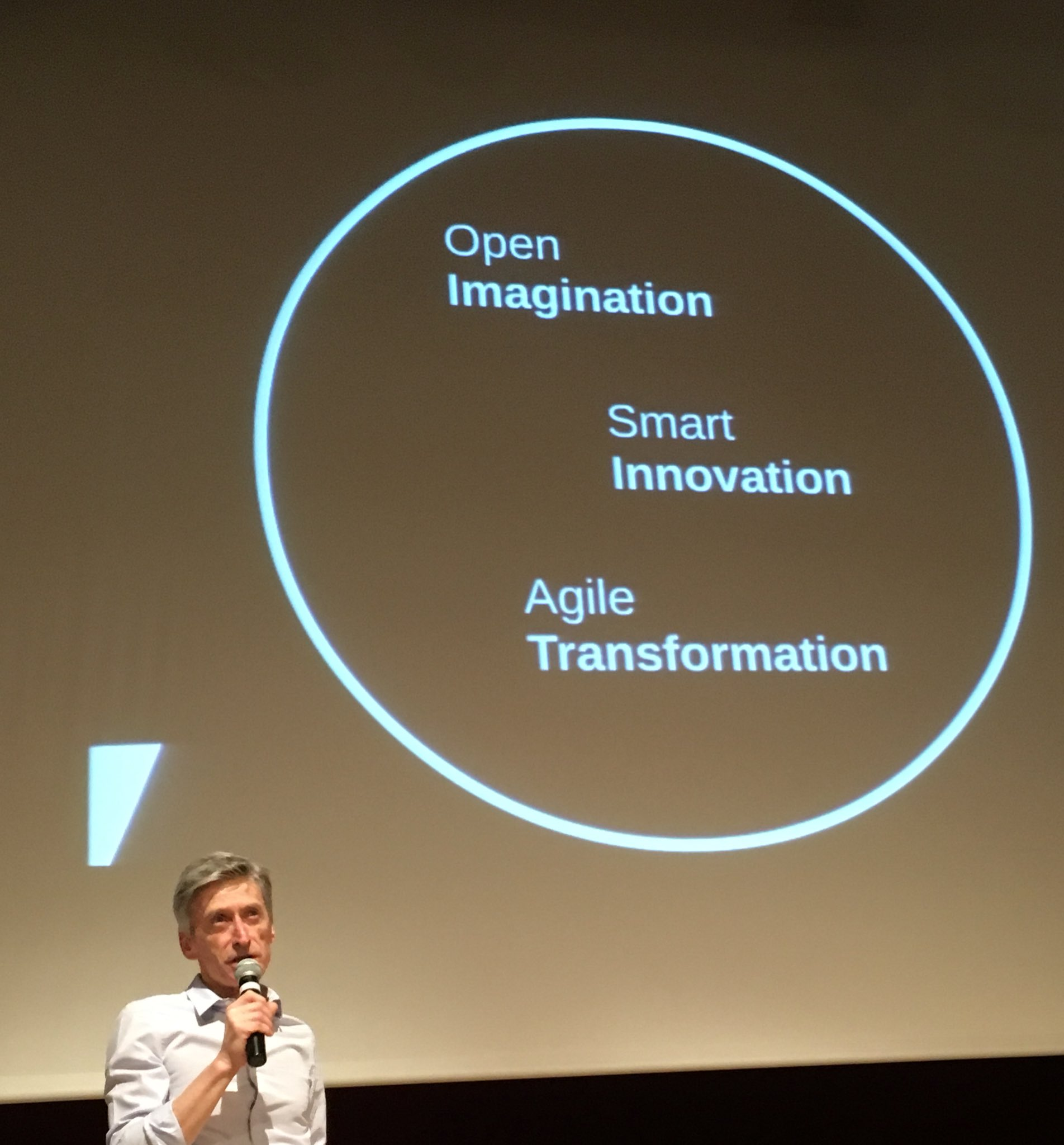 Open, smart, agile by @pdeniset #konvention2017 https://t.co/aO1R40aVqW