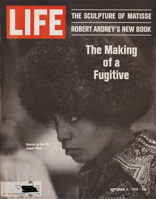 Happy Birthday Angela Davis ! The Classics   The Making of a Fugitive via