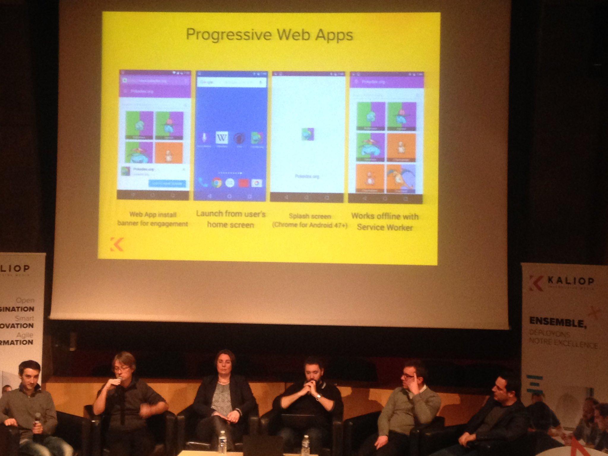 Les progressive web apps suppriment les frontières entre le desktop et le mobile #konvention2017 #ux via @gandbox https://t.co/Ab5UYXi0k1