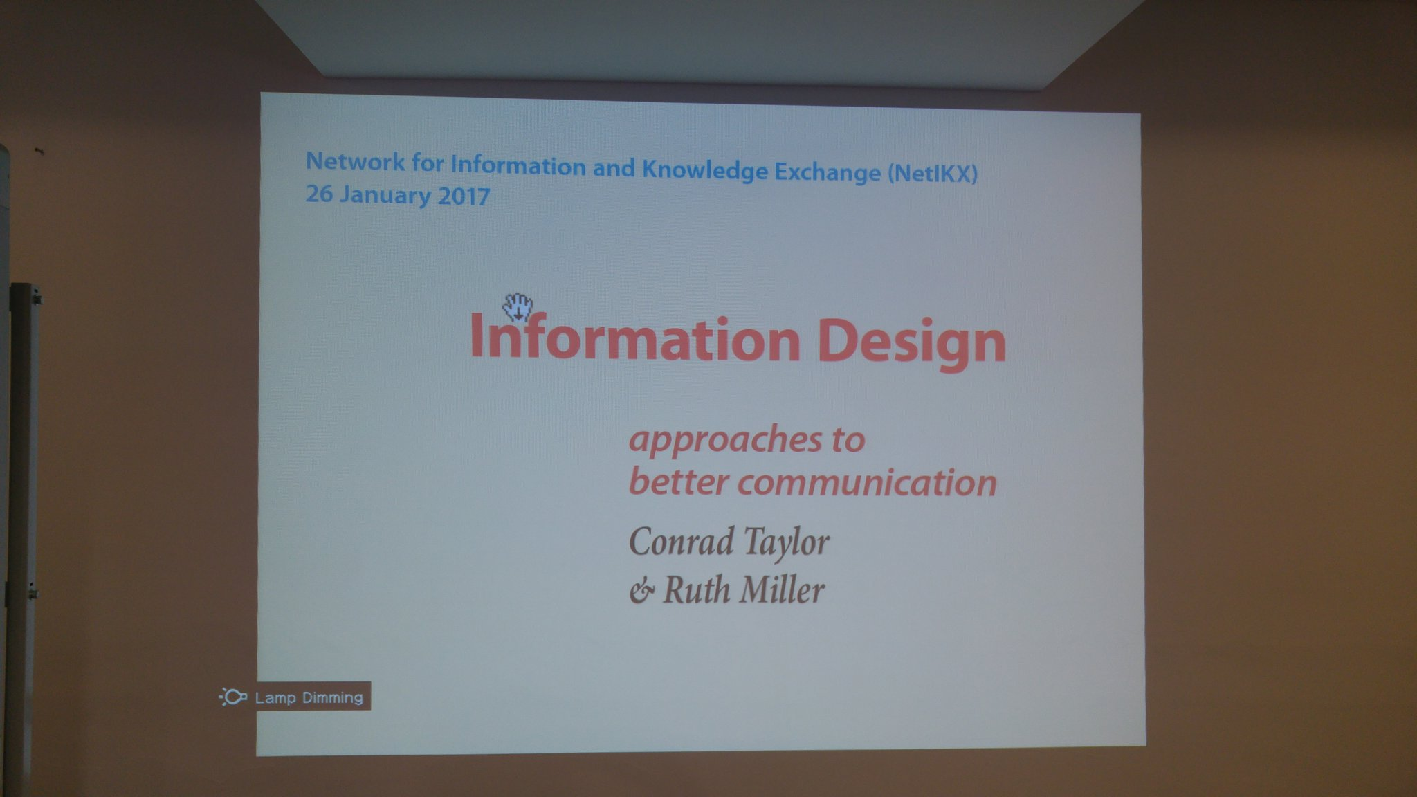 About to kick off #netikx83 on information design https://t.co/ILOdgPLKUN