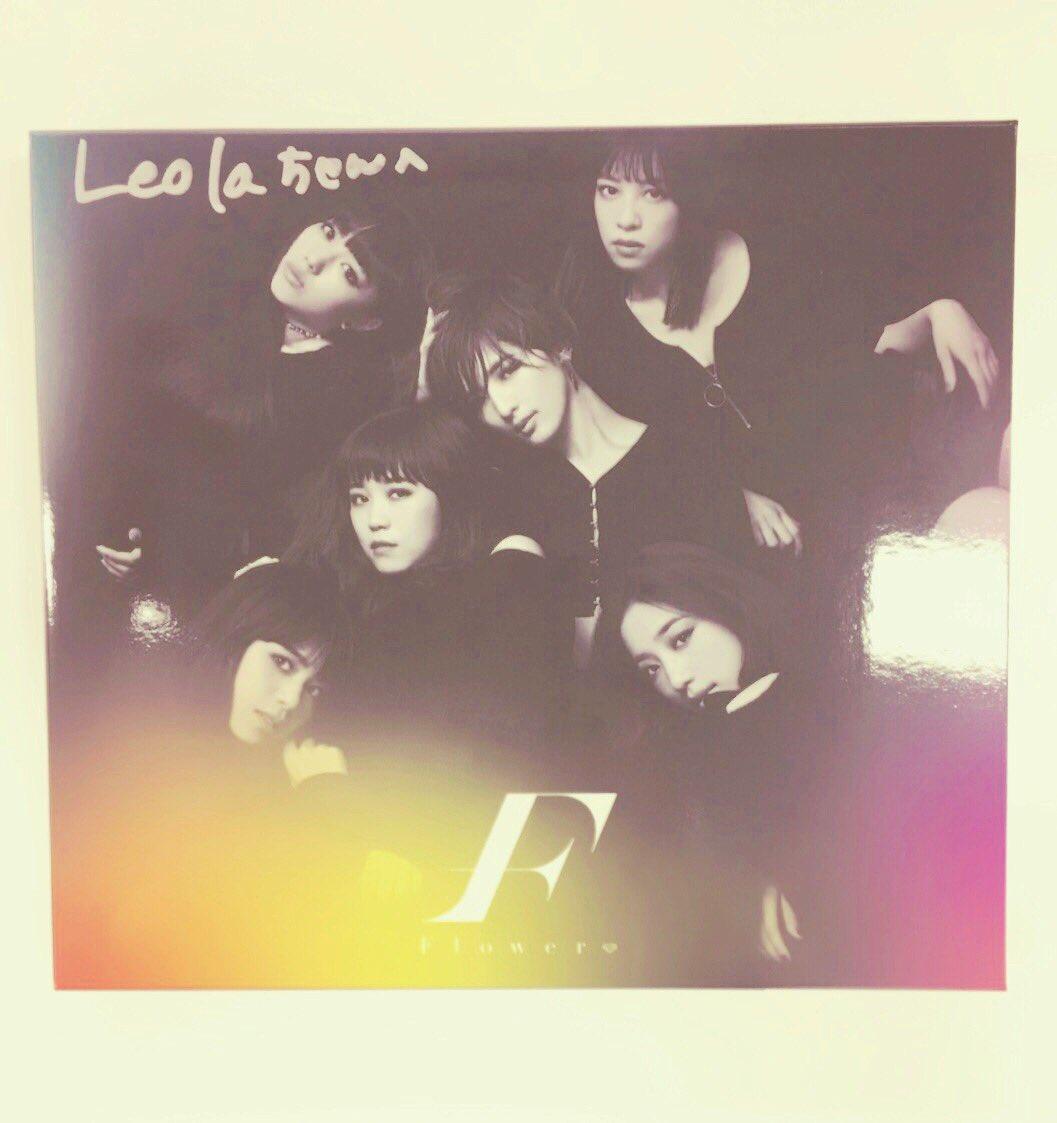制作の合間にいただきました!!♡ 今月11日に発売☆ FlowerさんのNew Single 『モノ…