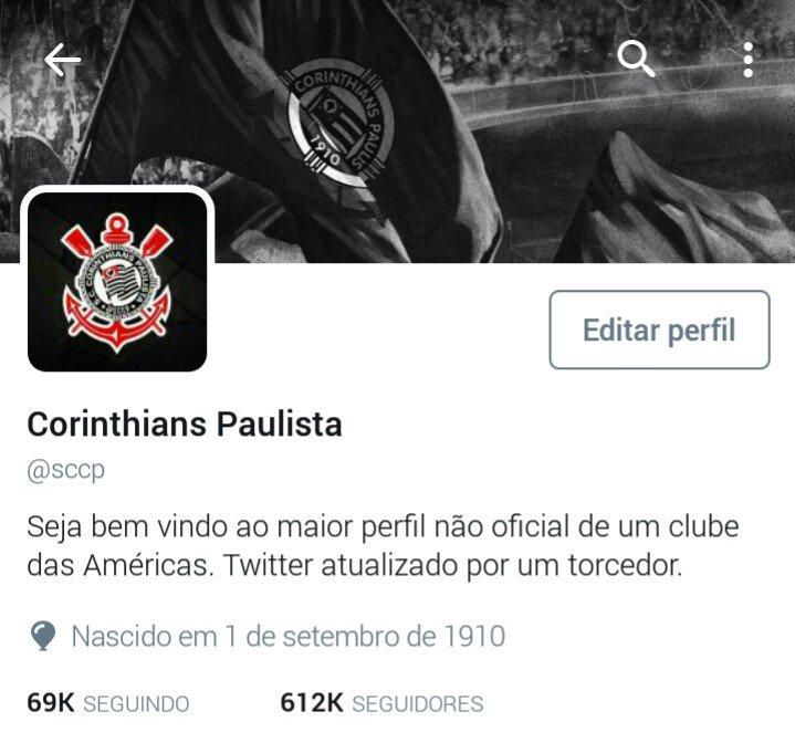 Corinthians Paulista on Twitter