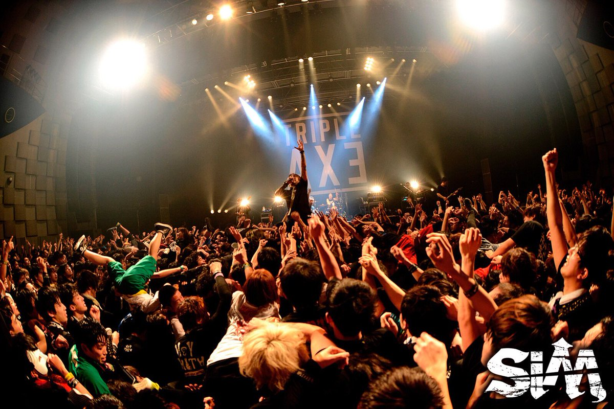 1/26(木) なんばHatch TRIPLE AXE TOUR'17 ありがとうございまし…