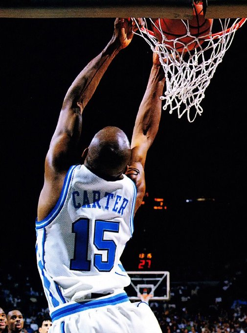 Happy birthday to Vince Carter! One of the greatest Tar Heels and NBA players of all-time!