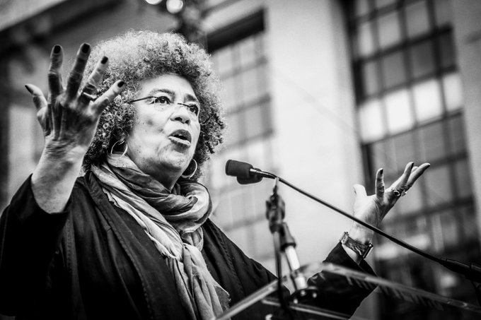 Wishing a most happy birthday to our hero, Angela Davis! (Photo: