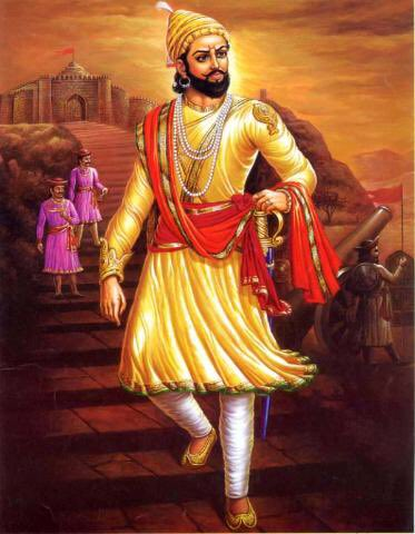 major gaurav arya on twitter history says chhatrapati shivaji died in 1680 come to