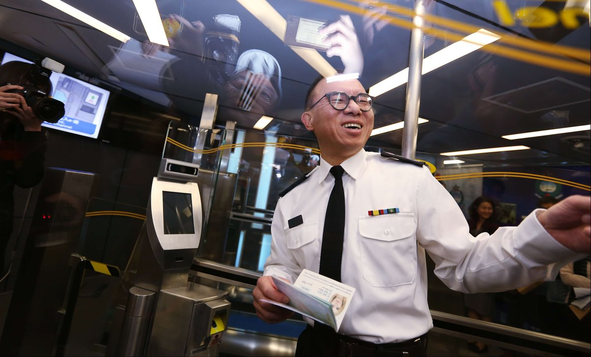 Hong Kong airport passport e-channels to launch for foreign visitors