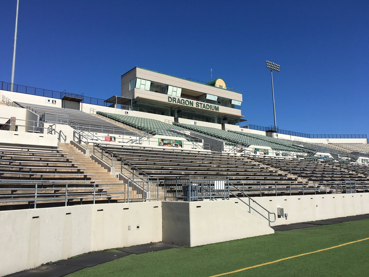 Hanging w/ @WestTxCoach snapping #StadiumProject pics in TX. Southlake Carroll #txhsfb<br>http://pic.twitter.com/raF22Cg2US